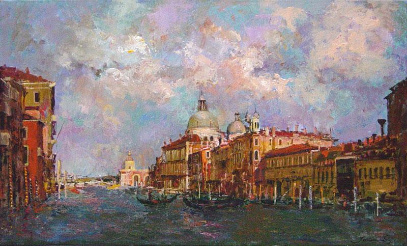 Gran Canal - Venecia - Oil - JM2367